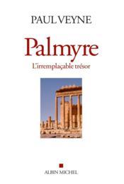 Palmyre, l'irremplaçable trésor - Couverture - Format classique
