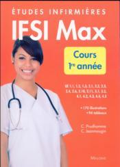 Ifsi max cours, 1re annee - Couverture - Format classique