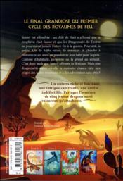 Les royaumes de feu T.5 ; la nuit-la-plus-claire - 4ème de couverture - Format classique