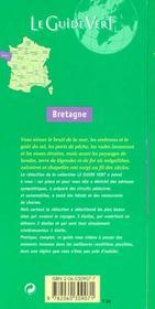 Le Guide Vert T.309 - 4ème de couverture - Format classique