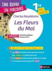 Les fleurs du mal ; 1re ; bac français - Couverture - Format classique