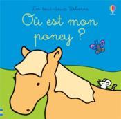 Où est mon poney ? - Couverture - Format classique