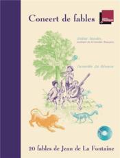 Concert de fables - Couverture - Format classique
