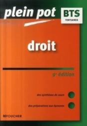 Droit (9e Edition) - Couverture - Format classique