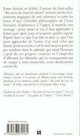 Le Livre De La Vie - 4ème de couverture - Format classique