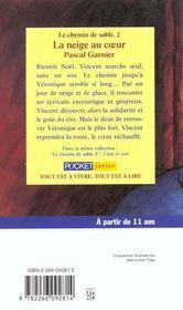 La Neige Au Coeur Tome 2 - 4ème de couverture - Format classique