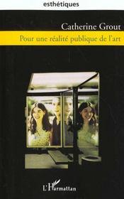 Pour Une Realite Publique De L'Art - Intérieur - Format classique