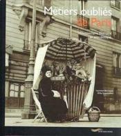 Metiers Oublies De Paris - Couverture - Format classique
