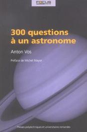 300 questions a un astronome - Intérieur - Format classique