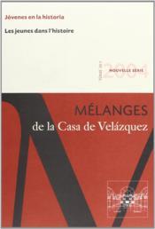 Revue mélanges N.34/1 ; les jeunes dans l'histoire - Couverture - Format classique