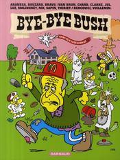 Bye-bye Bush - Couverture - Format classique
