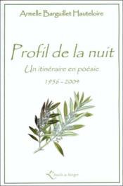 Profil De La Nuit. - Couverture - Format classique