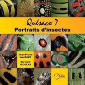 Quésaco ? portraits d'insectes - Couverture - Format classique