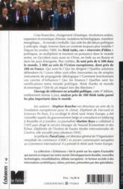 Les think tanks (3e édition) - 4ème de couverture - Format classique