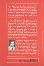 Le Bruloir De Don Patricio ; Souvenirs De Squelette - 4ème de couverture - Format classique
