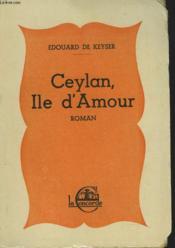 Ceylan, Ile D'Amour - Couverture - Format classique