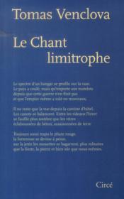 Le chant limitrophe - Couverture - Format classique