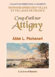 Attigny (coup d'oeil sur) - Couverture - Format classique