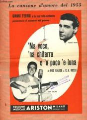 Na Voce? Na Chitarra E'O Pocco 'E Luna. - Couverture - Format classique
