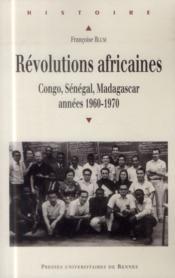 Révolutions africaines - Couverture - Format classique