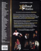 Des animaux près des étoiles - 4ème de couverture - Format classique