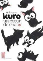 Kuro un coeur de chat t.1 - Couverture - Format classique