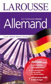 Allemand ; français-allemand / allemand-français - Couverture - Format classique