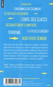 Petit manuel climatique pour ceux qui ne veulent pas finir grillés comme des sardines - 4ème de couverture - Format classique