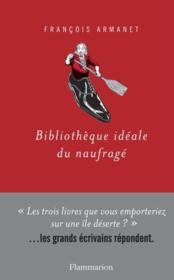 Bibliothèque idéale du naufragé - Couverture - Format classique