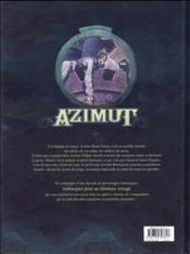 Azimut T.3 ; les anthropotames du Nihil - 4ème de couverture - Format classique