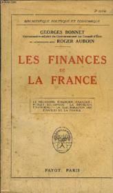 Les Finances De La France - Couverture - Format classique