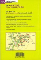 Dans le Queyras et le Guillestrois ; Saint-Véran, Molines, Arvieux, Ceillac, Abriès, Aiguilles, Ville-Vieille, Château-Queyras - 4ème de couverture - Format classique