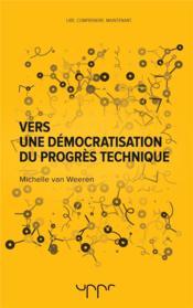 Vers une démocratisation du progrès technique - Couverture - Format classique