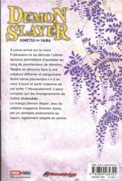 Demon slayer T.2 - 4ème de couverture - Format classique