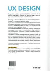 UX design & ergonomie des interfaces (7e édition) - 4ème de couverture - Format classique