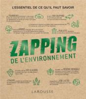 Le zapping de l'environnement - Couverture - Format classique