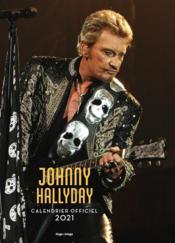 Calendrier mural Johnny Hallyday (édition 2021) - Couverture - Format classique