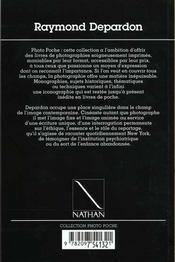 Raymond depardon n 81 - 4ème de couverture - Format classique