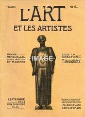 L'ART ET LES ARTISTES. SEPTEMBRE 1905. N°6. SOUS LA DIRECTION DE MR ARMAND DAYOT. LE MOIS ARTISTIQUE [ LE GRECO. JJ HENNER. L'HOTEL DE ROHAN. LEBASQUE. ZIEM. BRASSEUR. STEVENS. BOULENGER. DE BRAEKELEER. ].. (Poids de 389 grammes) - Intérieur - Format classique