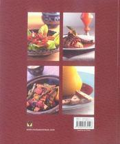 Cuisine marocaine - 4ème de couverture - Format classique