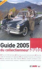 Guide du collectionneur auto (édition 2005) - Intérieur - Format classique