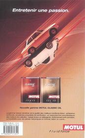 Guide du collectionneur auto (édition 2005) - 4ème de couverture - Format classique
