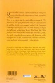 La chronique litteraire. 1920-1970 - 4ème de couverture - Format classique