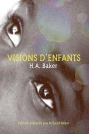 Visions D'Enfants - Couverture - Format classique