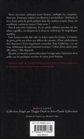 Le fétichiste - 4ème de couverture - Format classique