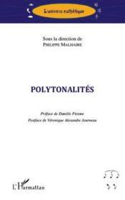 Polytonalités - Couverture - Format classique