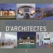 Maisons & villas d'architectes - Couverture - Format classique