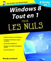 Windows 8 tout en 1 pour les nuls - Couverture - Format classique