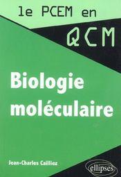 Biologie moléculaire - Intérieur - Format classique
