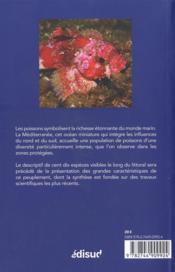 Poissons de Méditerranée - 4ème de couverture - Format classique